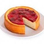 Cheese Cake New York Strawberry Topping