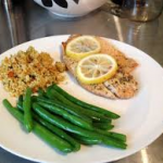 Seafood Tilapia with Couscous