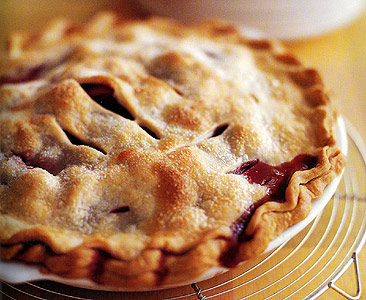 Glazed Strawberry Rhubarb Pie Recipes Squared