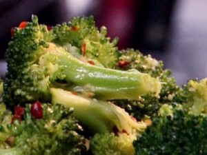 Spicy Broccoli Saute