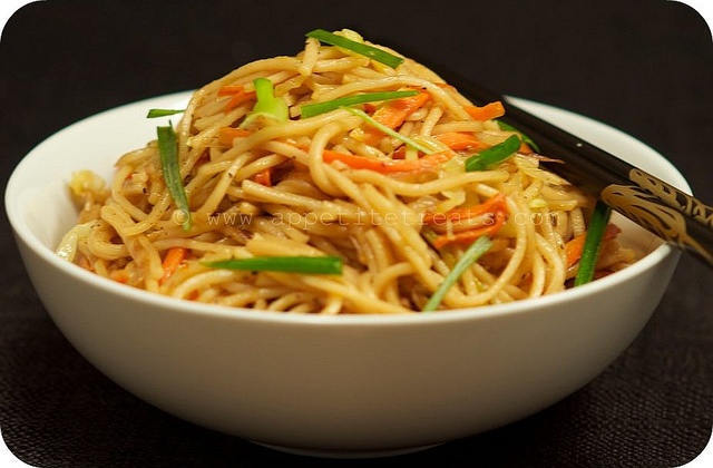 Chow Mein In Chinese Food