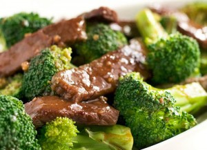 Almond Beef with Broccoli