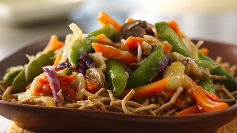 Vegetable Chow Mein | Recipes Squared