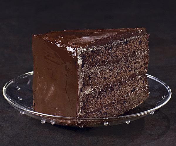 Triple Chocolate Devil S Food Cake
