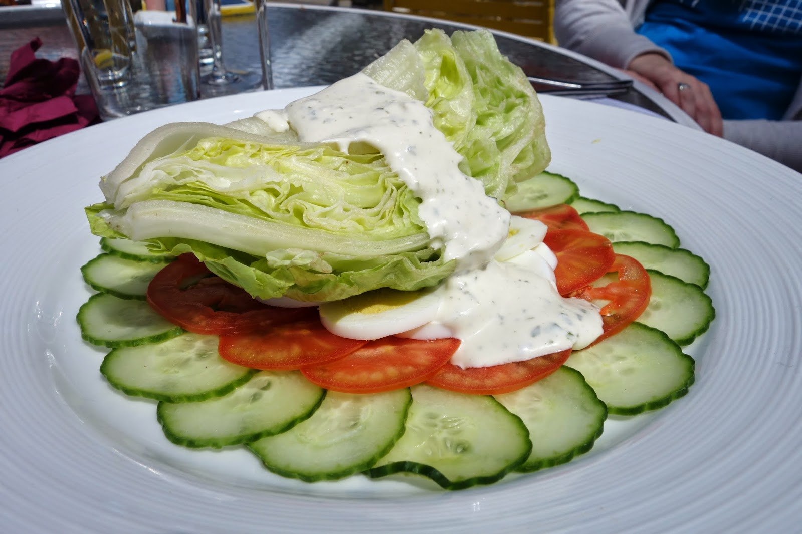 Iceberg Wedge Salad with Dressing | Recipes Squared