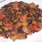 Venison and Wild Rice Stew