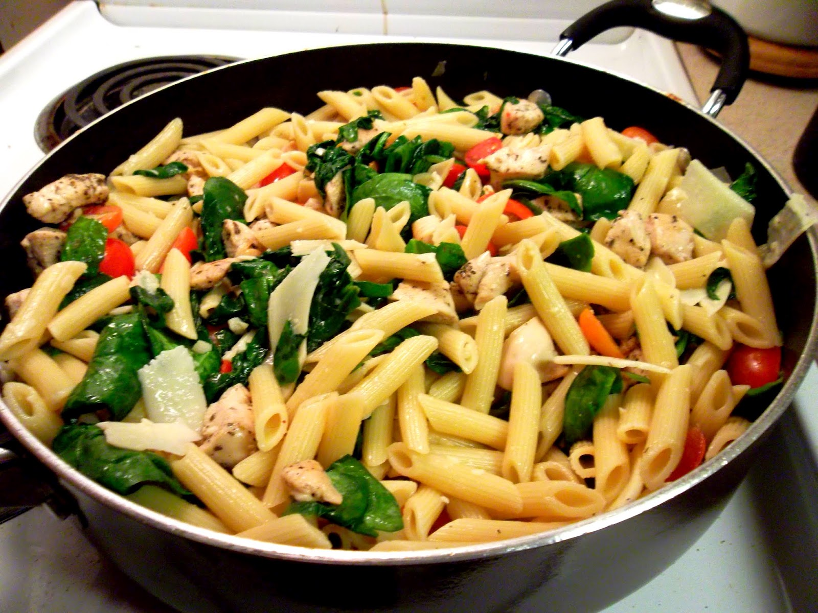 recipe: chicken florentine salad with orzo pasta [27]