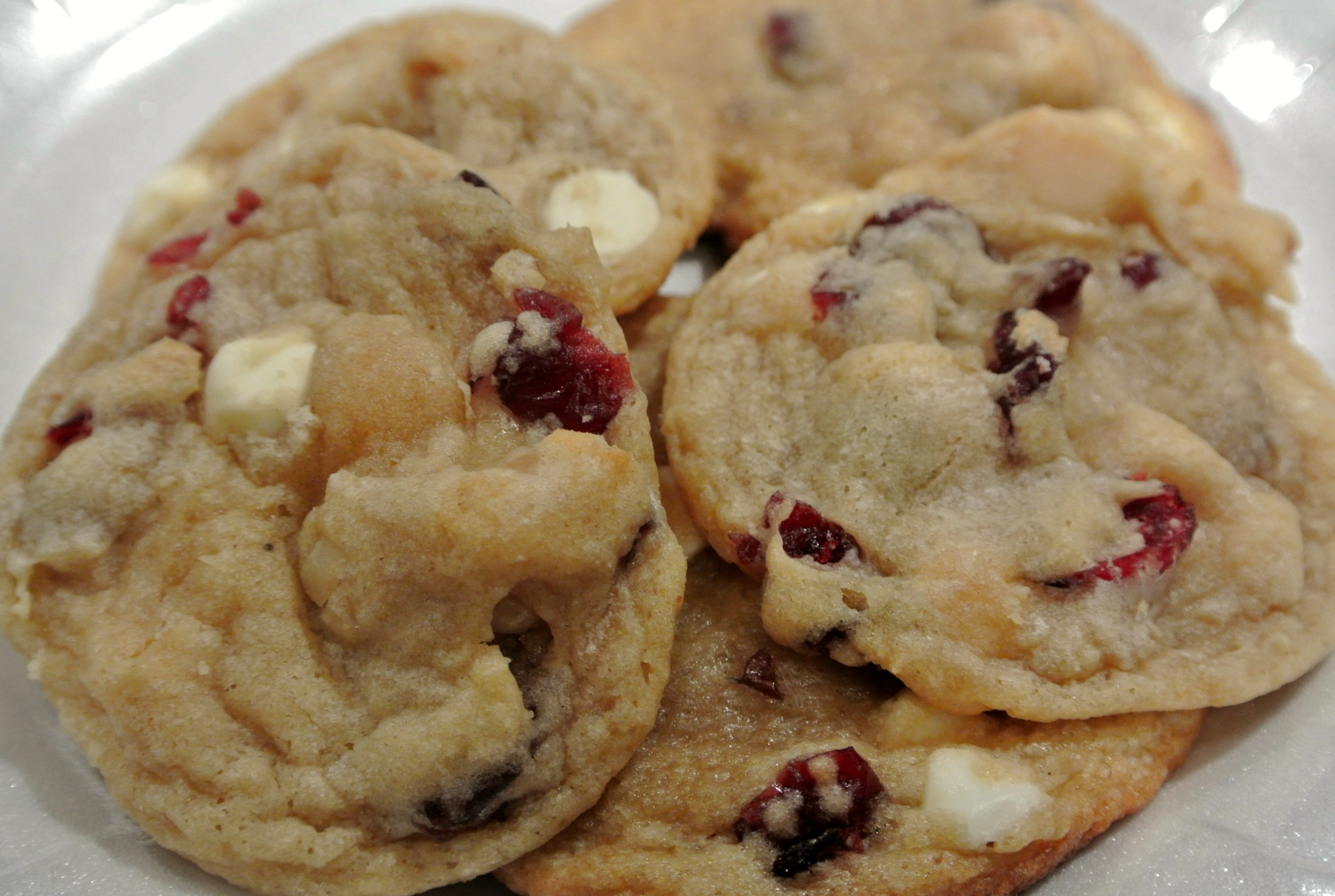 Cranberry White Chocolate Macadamia Nut Cookies | Recipes Squared