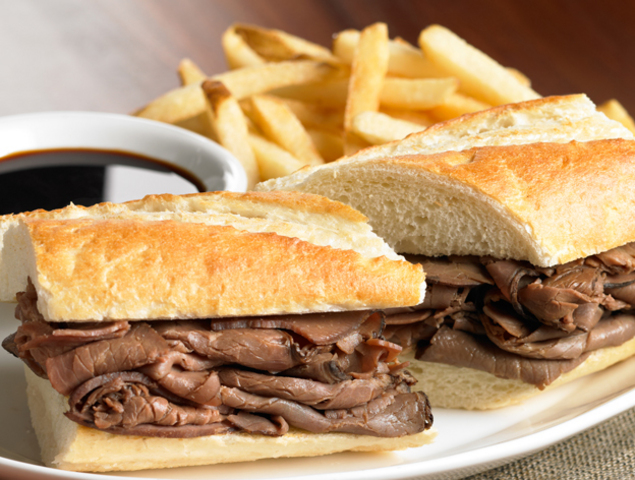 French Dip Roast Beef Sandwich | Recipes Squared