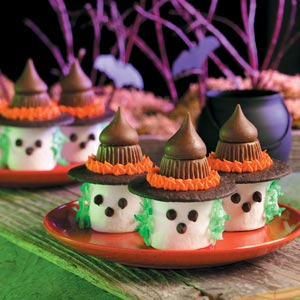 Marshmallow Witch Cookies
