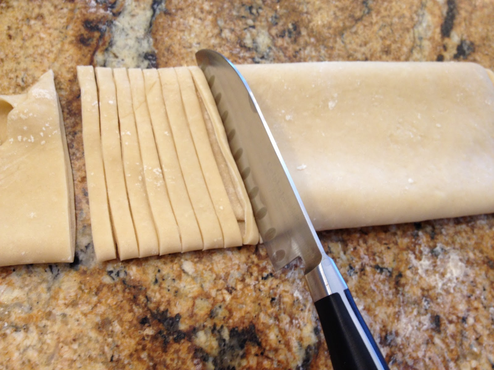 Easiest way to make fresh pasta dough without a machine