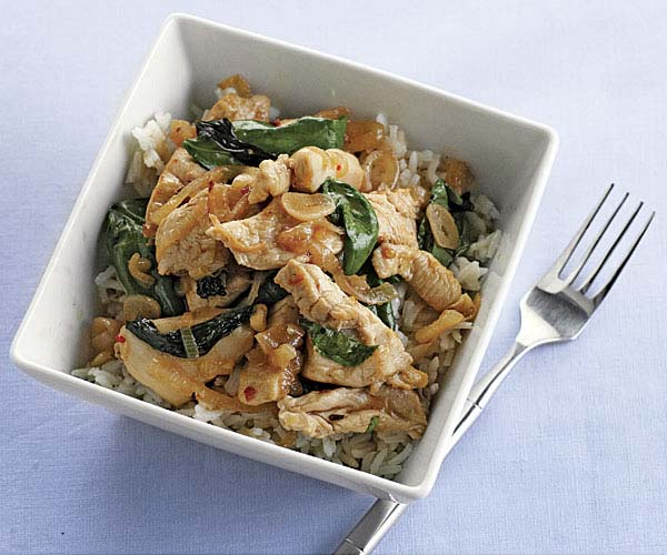 how to cook chicken stir fry with rice