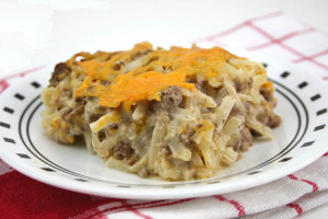 Ground Venison and Hash Brown Skillet Dinner