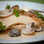 Turkey with Mushroom Gravy
