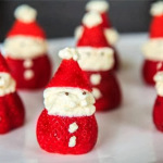 Strawberry Santa whipped Cream