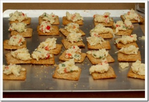 Toasted 2 cheese confetti crackers