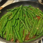 Glazed Green Beans