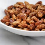 Spiced and Caramelized Almonds