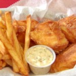 Beer Battered Fish Fry French Fries 2