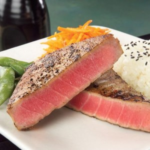 Grilled AHI Steaks (Yellow Fin Tuna)