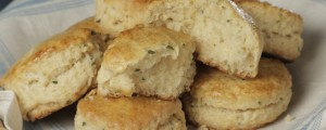 Chive and Honey Biscuits