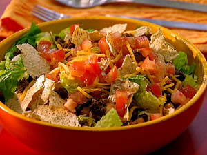 Beef-Taco-Salad-with-Chunky-Tomato-Dressing