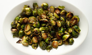 Hot and Spicy Brussel Sprouts