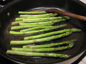Pan - Fried Asparagus