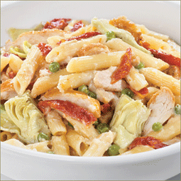 Bacon and Artichoke Pasta