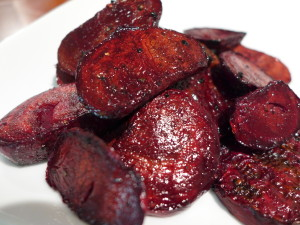 Dressed Baked Beets