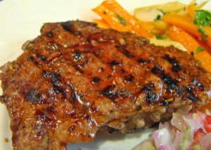 Herb-Pepper Sirloin Steak