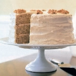 Maple Nut Cake with Maple Buttercream Frosting