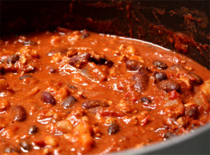 Red Beef Chili (HOT)