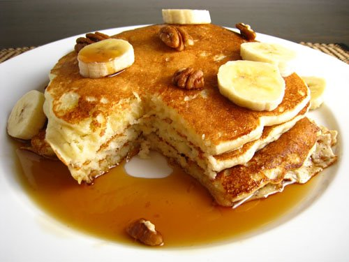 Banana Buttermilk Pancakes | Recipes Squared