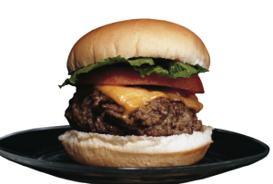 Simple Onion Barbecued Burgers