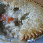 Baked Pot Pie eaten