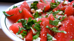 Grilled Watermelon and Feta Salad | Recipes Squared