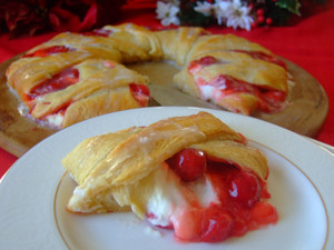 Cherry Cheese Crescent Ring