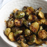 Brussel Sprouts Spicy Roasted