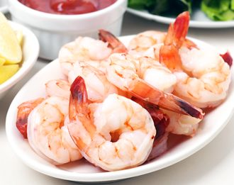 Poached Shrimp with Three Dipping Sauces | Recipes Squared