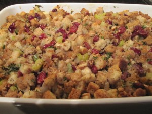 Sausage, Apple and Cranberry Stuffing