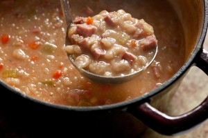 Elliott Annett's Bean Soup Recipe
