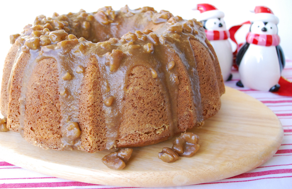 East Texas Pecan Cake With Butter Pecan Glaze Recipes