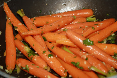 Steamed Carrots with Garlic-Ginger Butter | Recipes Squared