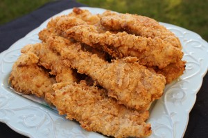 Crispy Chicken Fingers 1